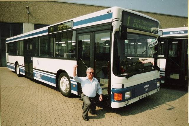 Erster Niederflurbus 1990