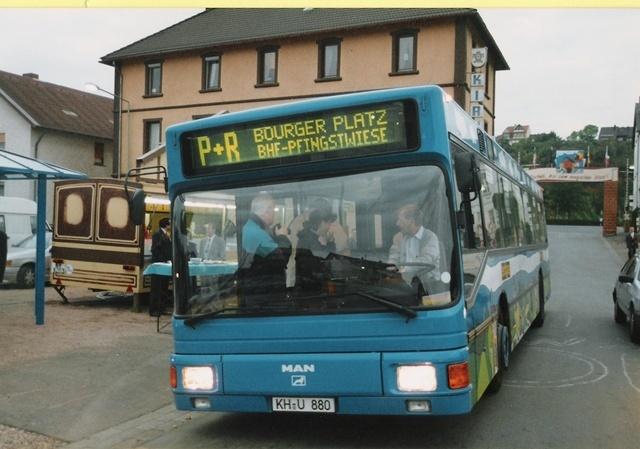 P+R-Bus Pfingswiese 1994