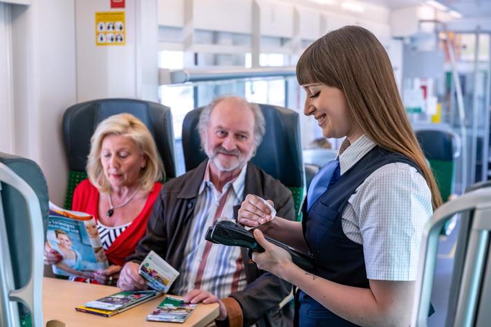 Transdev bietet Jobs als Zugbegleiter
