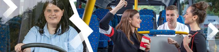 Transdev bietet freie Jobs für Fahrpersonale wie Busfahrer