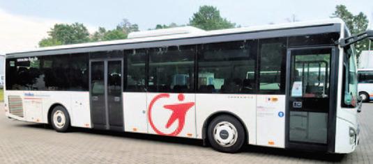 Bus der Transdev GmbH