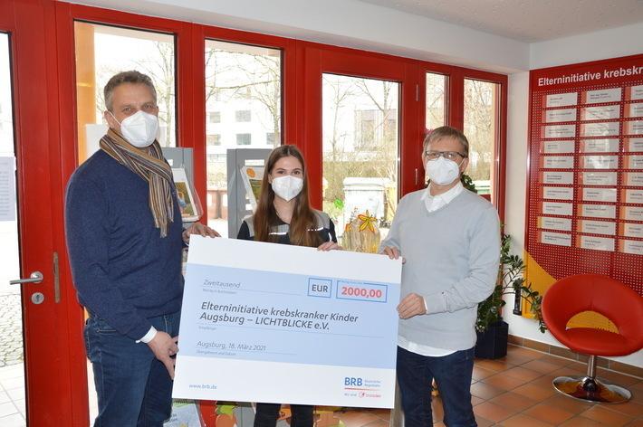 Spendenscheck für Lichtblicke Augsburg