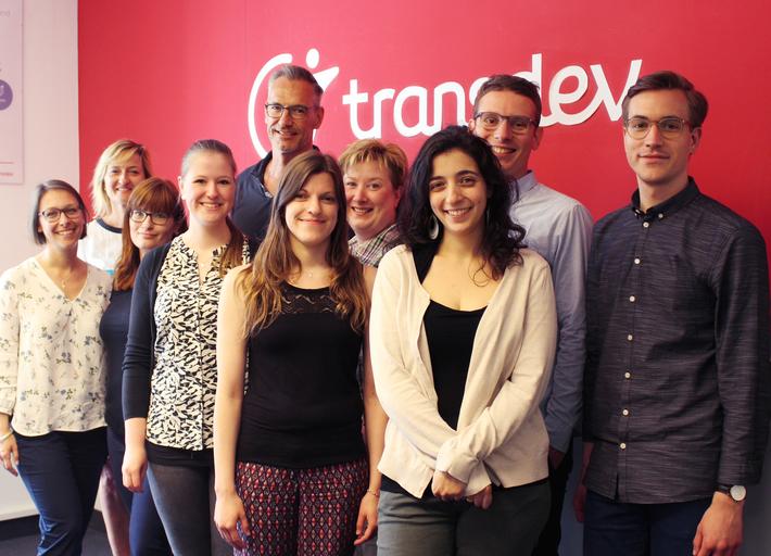 Abschluss Gruppenbild Transdev-Trainees