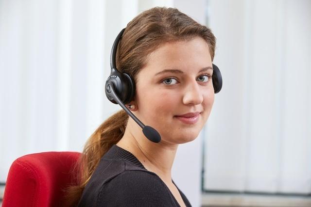 Mitarbeiterin Transdev-Kundenservice