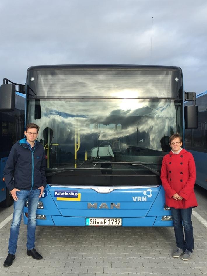 Zwei Transdev Trainees