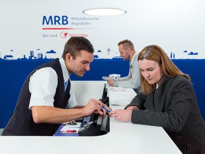 Ticketverkauf im MRB Kundencenter