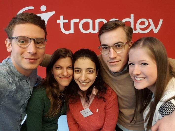 Selfie Transdev Trainees