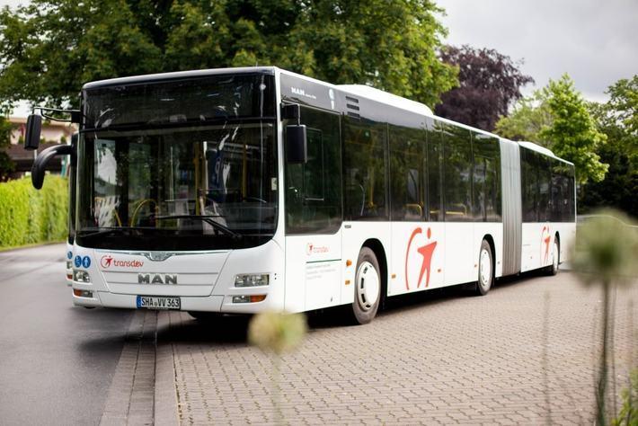 Transdev Busse für SEV und BNV
