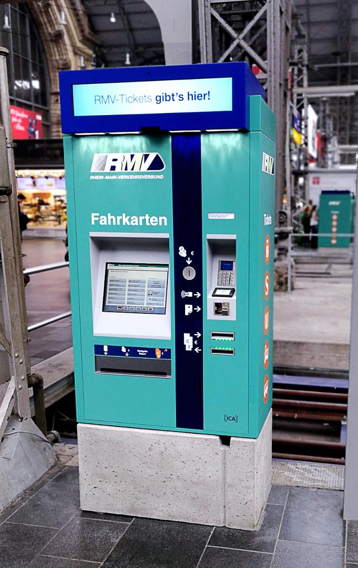 RMV Fahrkartenautomat