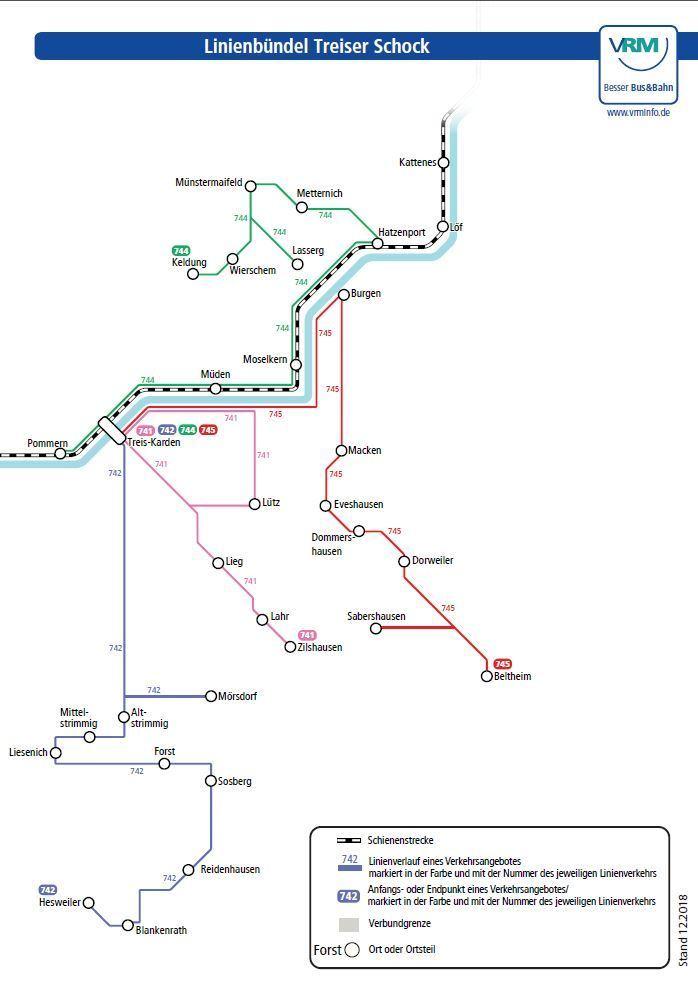 Treiser-Schock Linienbündel