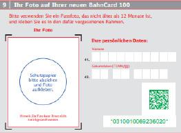 BahnCard über Amadeus buchen